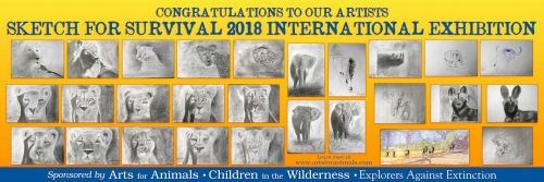 ARTS FOR ANIMALS  child artists exhibited internationally!