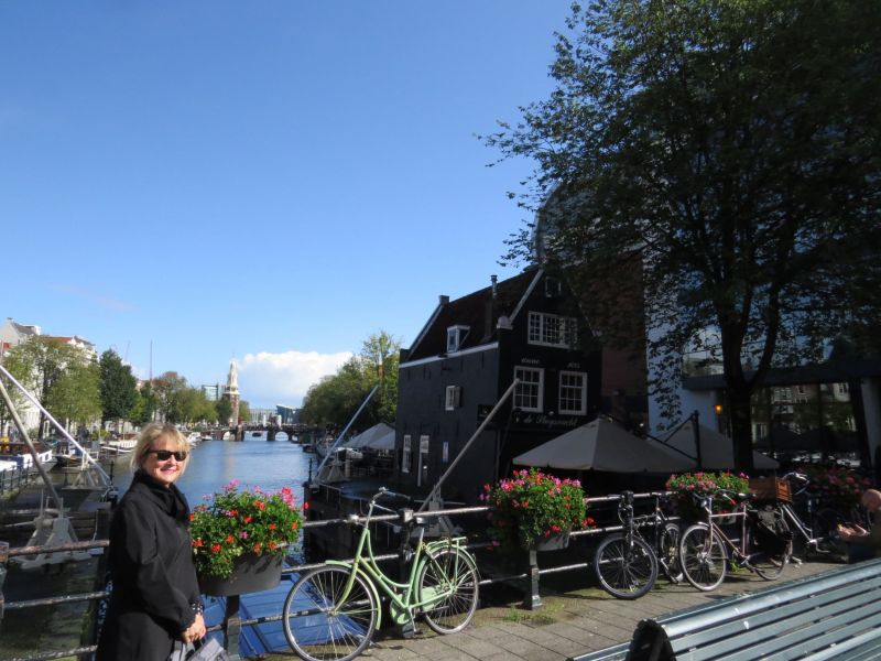 The canals were beautiful and a great way of touring Amsterdam