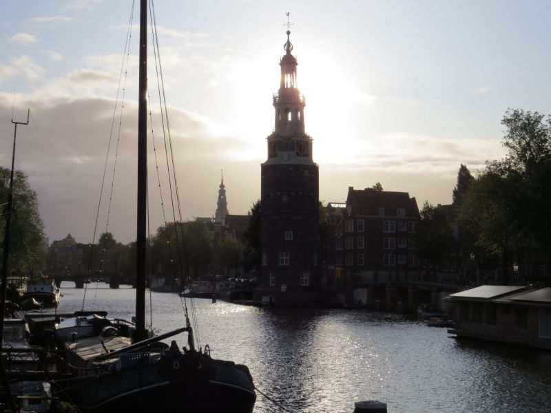 Our houseboat was right underneath one of the bell towers of Amsterdam so every hour we heard a beautiful melody