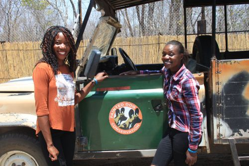Sebo Sibanda and Anita Ncube first decided they wanted to become park rangers while attending the Painted Dog Conservation camp as children