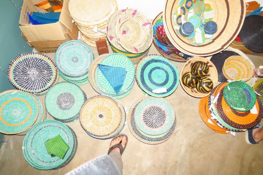 The baskets feature incredible designs and colors  and we hope to help market them in the United States