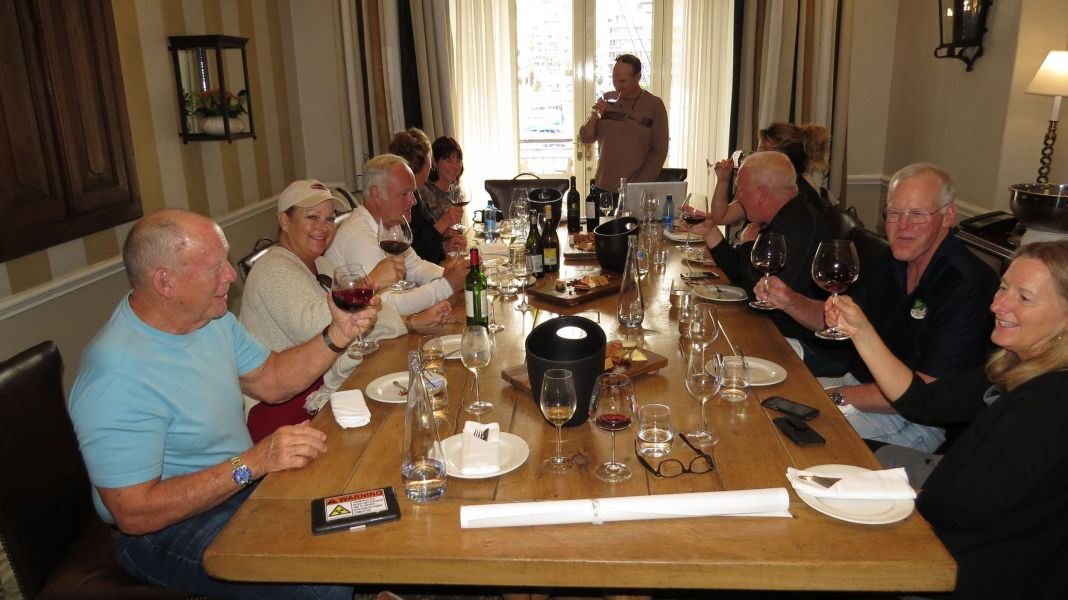 Our personal South African wine class