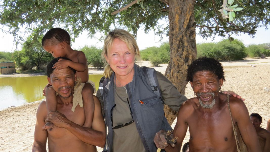 My friendships with the bushmen span generations