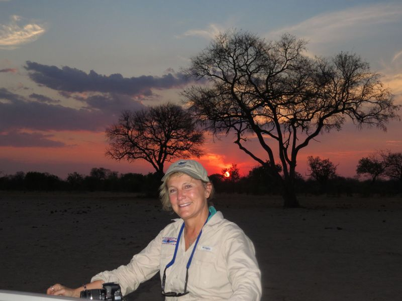 There few moments more magical than sunset in Africa