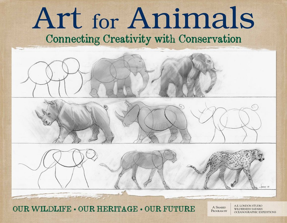 Our ART FOR ANIMALS  poster